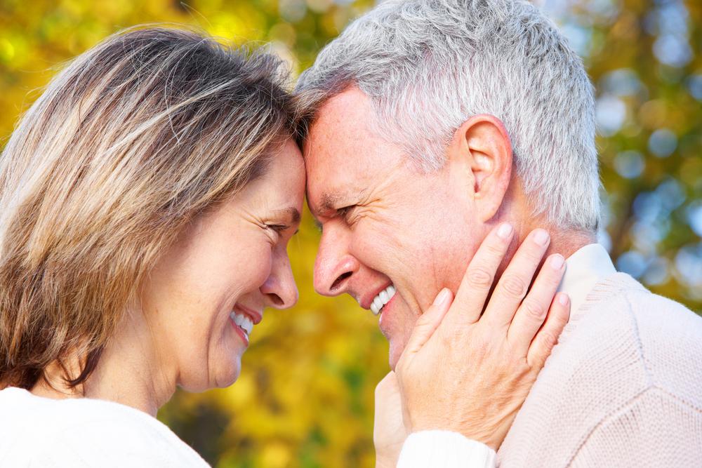 Reifes glückliches Paar