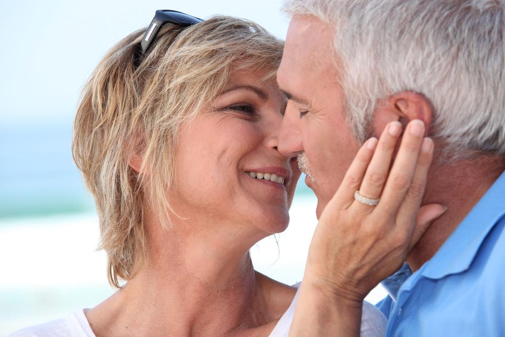 Verliebtes Paar im reiferen Alter
