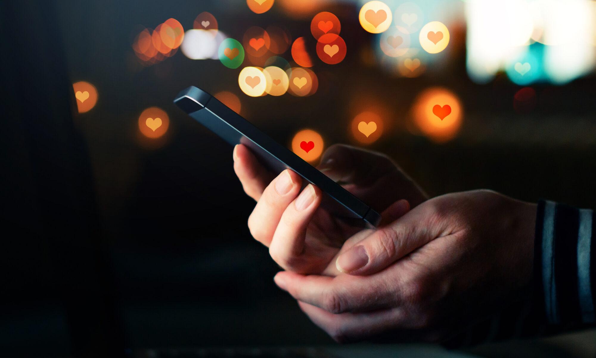Partenrsuche online mit dem Smartphone